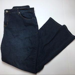 Torrid Dark Wash Skinny Jeans, 22T